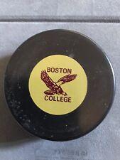 Boston College Eagles NCAA Puck. Great Shape! Rare!