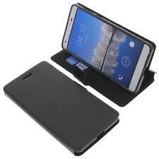 étui pour CUBOT H2 style Livre Etui Housse pour téléphone mobile Livre Noir