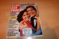 Echo der Frau Nr.28/1981 TB Paola u Kurt Felix,Gitte,Winnetou,Jürgen Marcus