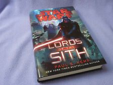 More details for star wars lords of the sith first edition hardback book   hardcover   nm