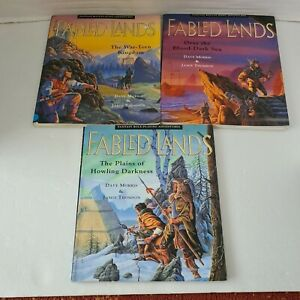 Fabled Lands Book Bundle Large Print 1 3 And 4 Rare 1995 Role Playing