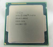 New listing Intel i7 4770 3.40Ghz Quad Core Lga 1150 Haswell Cpu Sr149 Fully tested