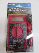 7 Function Digital Multimeter Easy to read Lcd readout