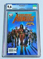 New Avengers #7 CGC 9.6 1st App of the Illuminati! Coming to MCU! Marvel Comics!