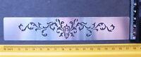 Border/Metal/Stencil/Ornate/Flourish/emboss/Stainless/Steel