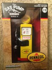 Greenlight Collectibles PENNZOIL Gas Pump 1:18 Scale Die-Cast Series 4