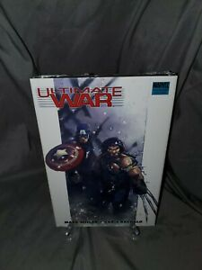 ULTIMATE WAR HC Hardcover Wolverine Mark Millar Bachalo MARVEL COMICS