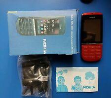 Nokia Asha 300 - 5MP Camera - 3G-Bluetooth-Red-Unlocked - 2 Years Warranty