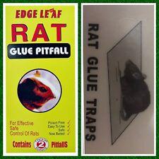 Rat Glue Trap Board Big Size Mice Mouse Rodent Super Sticky Rat Snake yellow