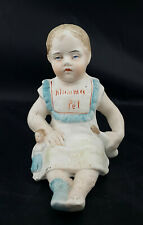 More details for unbranded porcelain figurine mama pet, baby with doll & feeder