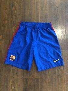 Nike FC Barcelona Home Kit Soccer Shorts Adult Medium EUC Mens