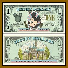 "Disney 1 Dollar, 1996 Series ""AA"" Disneyland Uncirculated"