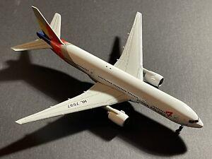 Asiana Airlines B777-200 South Korea 1/400 Phoenix Models