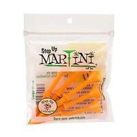 Lot of 20 Authentic Orange Martini Step Up Golf Tees (4 Pack Special) + Bonus!!