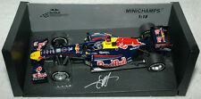 Sebastian Vettel Signed - Minichamps 1/18 F1 2011 Japan Red Bull model Diecast