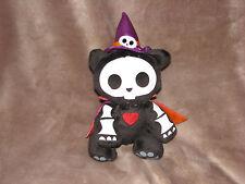 skeleanimals stuffed plush halloween witch hat cape stuffed plush bean bag toy