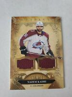 Nazem Kadri 2020-21 Upper Deck Artifacts Dual Jersey 98/175 Colorado Avalanche