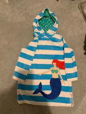 Mini Boden Hooded Towelling Mermaid Beach Dress Age 5-6