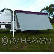 Camec Caravan Awning Privacy / Shade Screen 3.4m x 1.8m 12' carefree Fiamma