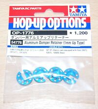 Tamiya 54776 Aluminum Damper Retainer (1mm Up Type) (TRF417/TRF418/TRF419), NIP