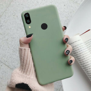 For Huawei Y5 Y6 Y7 Y9 Prime 2019 2018 Slim Soft Silicone TPU Frosted Case Cover