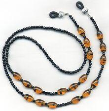 Hi Quality TORTOISE SHELL Eyeglass~Glasses Holder Leash Necklace Chain CUSTOM