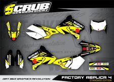 Suzuki graphics DRz 400 E SM decals kit 1999-2018 stickers enduro '99-'18 SCRUB