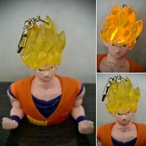 Goku Saiyan Dragon Ball Z Light Up Figure Key Chain Collectable Funimation 99