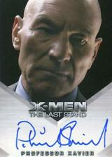X-Men The Last Stand Autograph Card Patrick Stewart as Professor Xavier