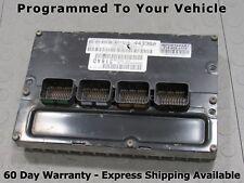 Programmed 2005 Dodge Stratus Sebring 2.4L Engine Computer ECU ECM 04606912AC
