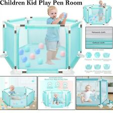 Star and crescent,14or18Piece+100 ball,Kid//children//baby Room Divider//fence//pen