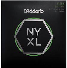 D'Addario NYXL1156 Nickel Wound, Medium Top / Extra-Heavy Bottom, 11-56