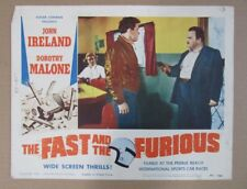 THE FAST AND THE FURIOUS D MOVIE POSTER LOBBY CARD 1954 ORIGINAL 11x14