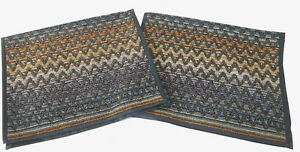MISSONIHOME TWO HAND TOWELS INDIVIDUAL PACKAGING STEPHEN 100 COTTON VELOUR