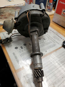 Chevy GM 6-cylinder Low Profile HEI Distributor #1110666, uses an external coil