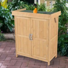Outsunny CA845-0480231 Wood Garden Shed
