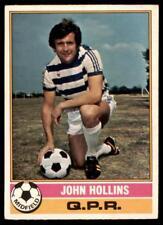 B1 Frank McLintock Queens Park Rangers No Topps Football Red 1977 179