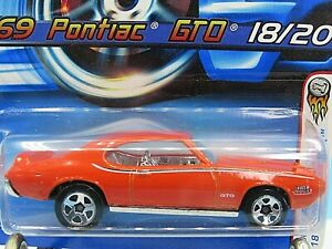 HOT WHEELS VHTF 2005 FIRST EDITIONS SERIES 69 PONTIAC GTO