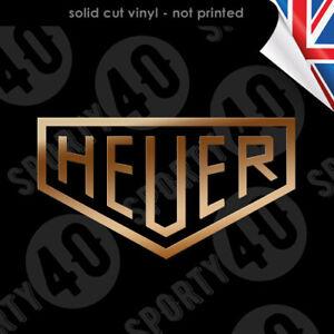 HEUER Sticker Decal Vinyl - Tag Heuer Racing Race Car Scooter Vespa 2320-0520