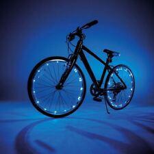 JML Wheely Bright LED Bike Wheel and Frame Lights 2 Pack Choose Colour Blue