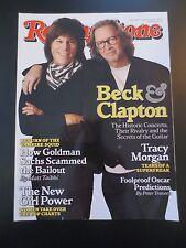 Jeff Beck Eric Clapton Rolling Stone Mar 2010 Tracy Morgan Bailout Ryan Bingham