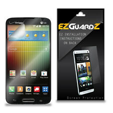 6X EZguardz LCD Screen Protector Cover Skin HD 6X For LG Lucid 3 (Ultra Clear)