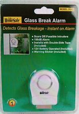 Wireless Window Door Glass Break Guard Burglar Home Security Vibration Alarm NEW