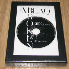 MBLAQ M-BLAQ Broken 6TH MINI ALBUM K-POP CD + PHOTOCARD + POSTER SEALED
