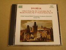 CD / DVORAK - A HERO'S SONG, CZECH SUITE, HUSSITE OVERTURE, FESTIVAL MARCH