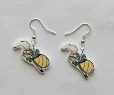 Princess and the Frog Ray the Firefly Novelty  Earrings
