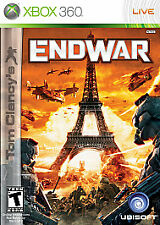 Tom Clancy's EndWar (Microsoft Xbox 360, 2008) Sealed LN