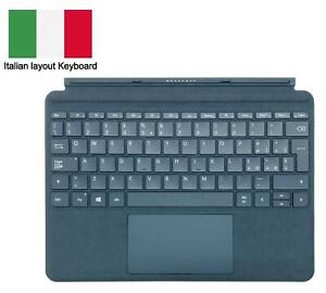 Microsoft Blue Signature Type Cover Italian Keyboard for Surface Go Tablet