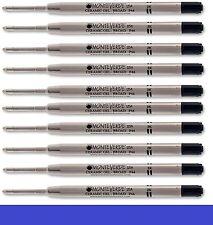10 - MONTEVERDE Ballpoint Parker Style GEL Pen Refill - BROAD / BOLD - BLUE
