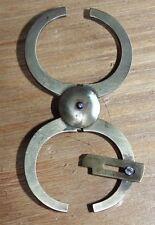 ancien petit compas d epaisseur en bronze